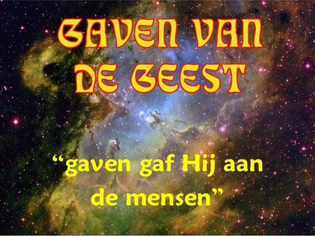 GAVEN VAN DE GEEST +
