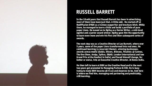 Gavin and Russell Barrett: St Xavier's Zeitgeist Conference 2014 Interactives Series Slide 3