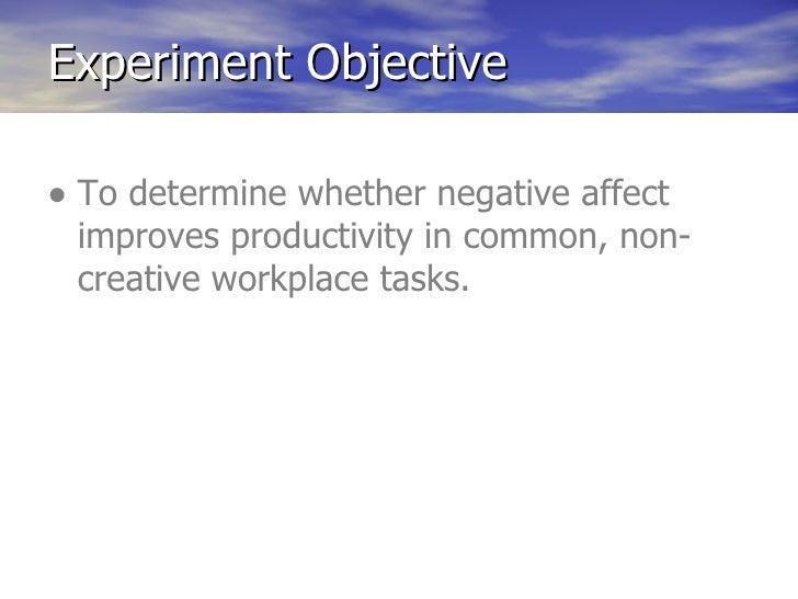 Practical Benefits:Negative Feedback
