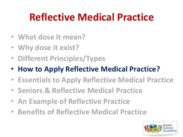reflective essay on clinical practice It is one thing to read about nursing, to practice things on mannequins or classmates, to imagine yourself being a perfect, competent, caring, skillful, smooth-sailing super-nurse who is going to make people feel good and happy and healthy.