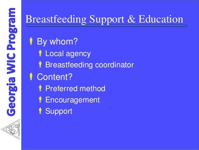 understanding wic program The special supplemental nutrition program for women, infants, and children ( wic) program benefits nutritionally vulnerable populations by.