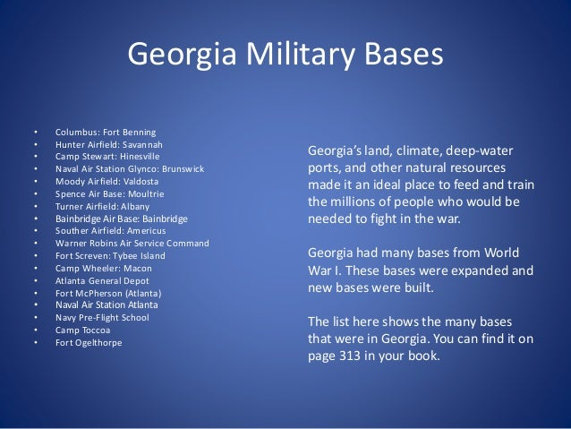 World war ii and georgia georgia military bases publicscrutiny Gallery