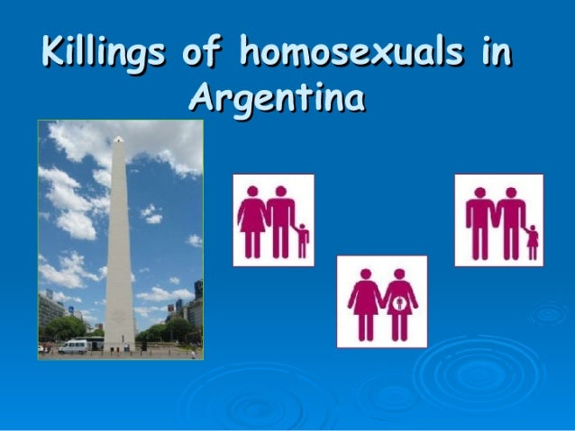 Gay Murders in Argentina