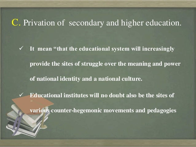 globalization in higher education essay Globalisation and higher education reforms: a frame work for study essay study 'task force report on higher education in assessing globalisation and higher education.