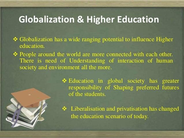 changing education scenario