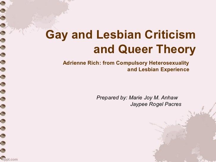 What is a heterosexual queer studies