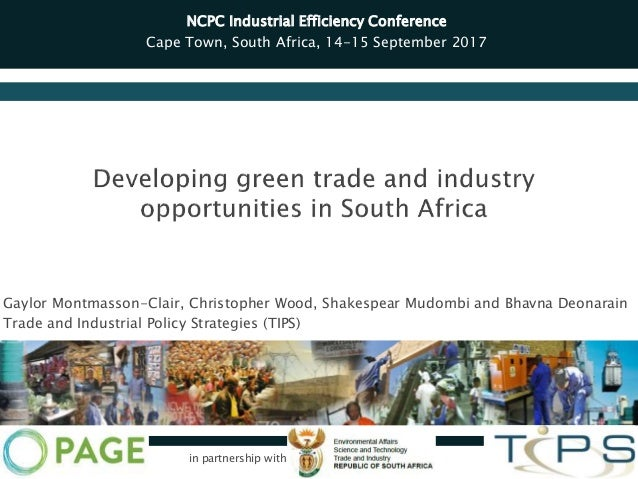Gaylor Montmasson-Clair, Christopher Wood, Shakespear Mudombi and Bhavna Deonarain Trade and Industrial Policy Strategies ...