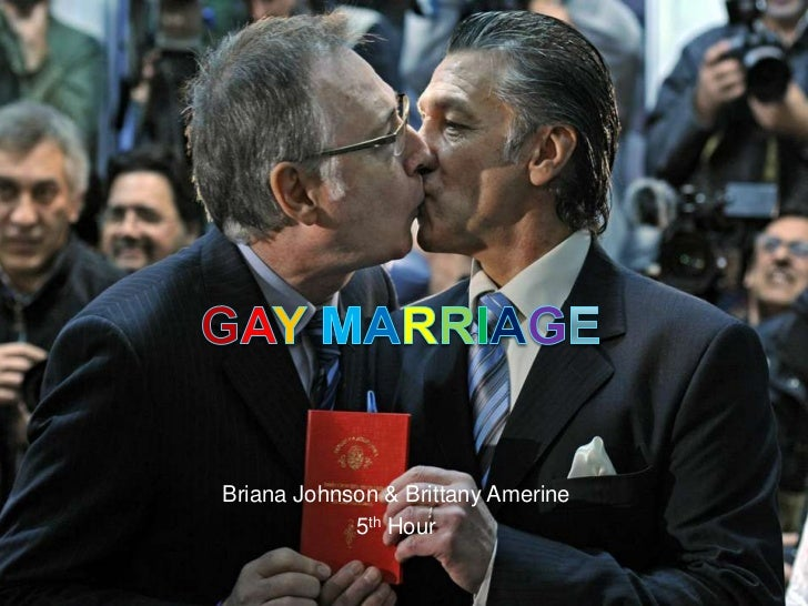 GayMarriage<br />Briana Johnson & Brittany Amerine<br />5th Hour<br />