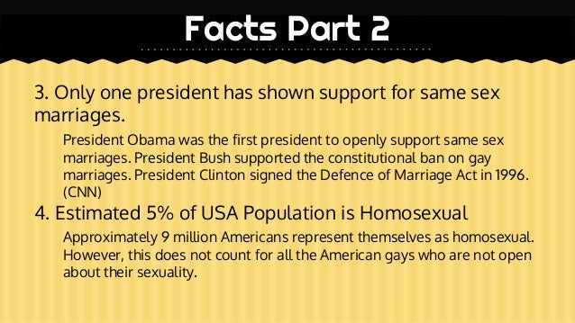 Gay rights facts about homosexuality
