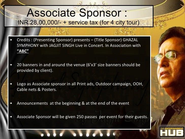 12 associate sponsor