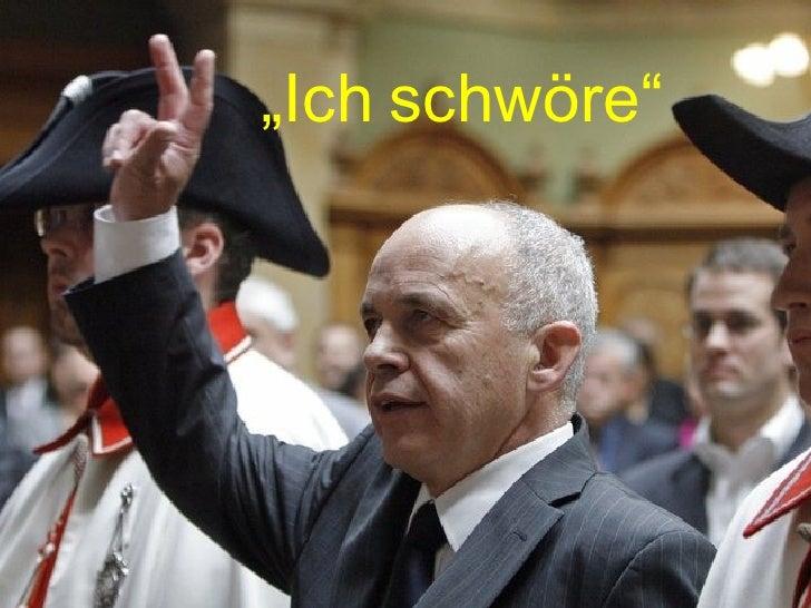 """"""" Ich   schwöre"""""""
