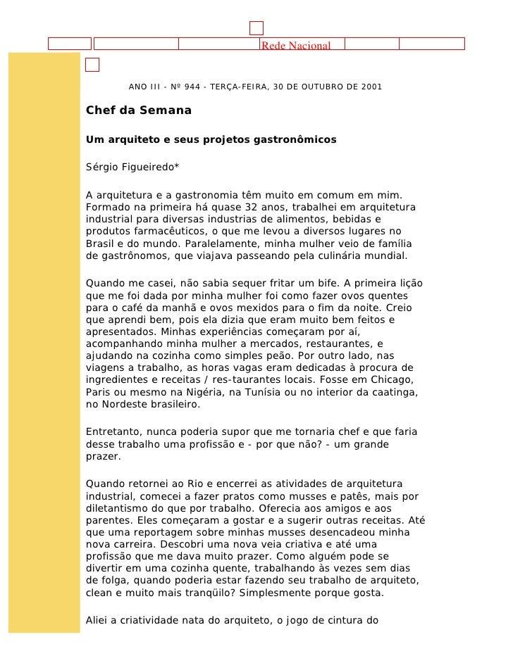 Rede Nacional                                     Gazeta Mercantil          ANO III - Nº 944 - TERÇA-FEIRA, 30 DE OUTUBRO ...