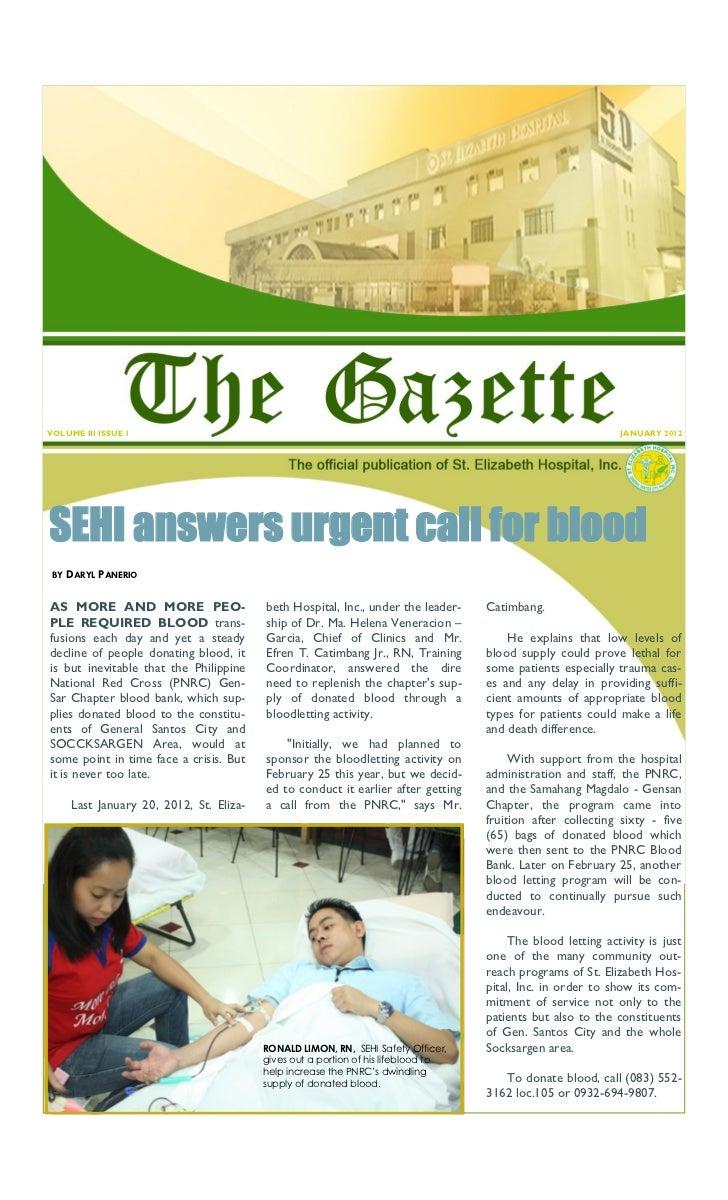 VOLUME III ISSUE 1                                                                                            JANUARY 2012...