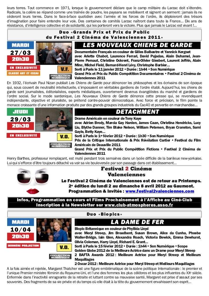 Gazette du 13 mars au 24 avril 2012 Slide 3