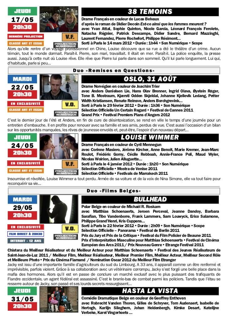 Gazette du 8 mai au 14 juin 2012 Slide 3