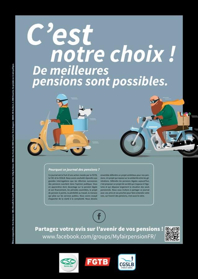 Partagez votre avis sur l'avenir de vos pensions ! www.facebook.com/groups/MyfairpensionFR/ notre choix ! De meilleures pe...