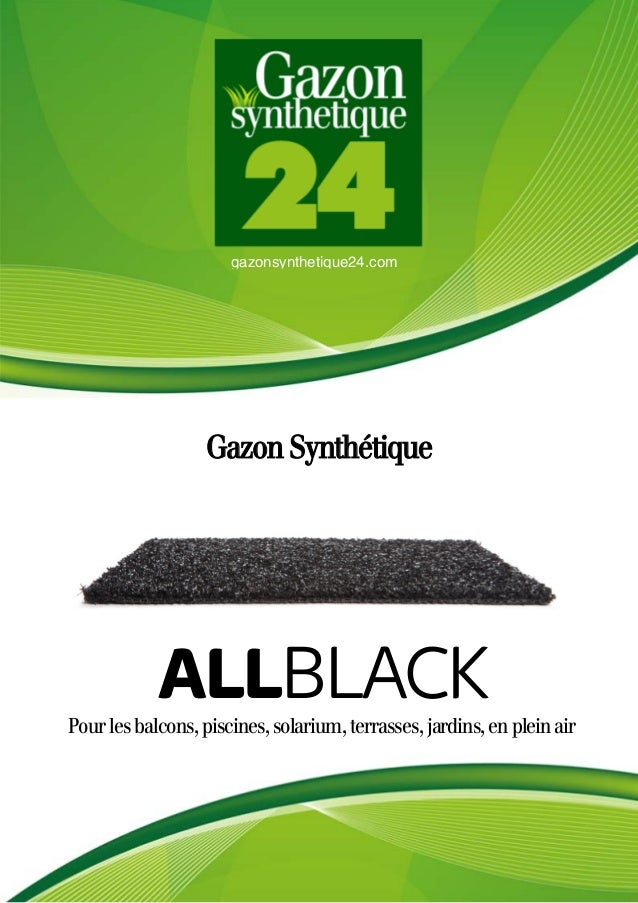 gazonsynthetique24.com Gazon Synthétique Pourlesbalcons,piscines,solarium,terrasses,jardins,enpleinair ALLBLACK
