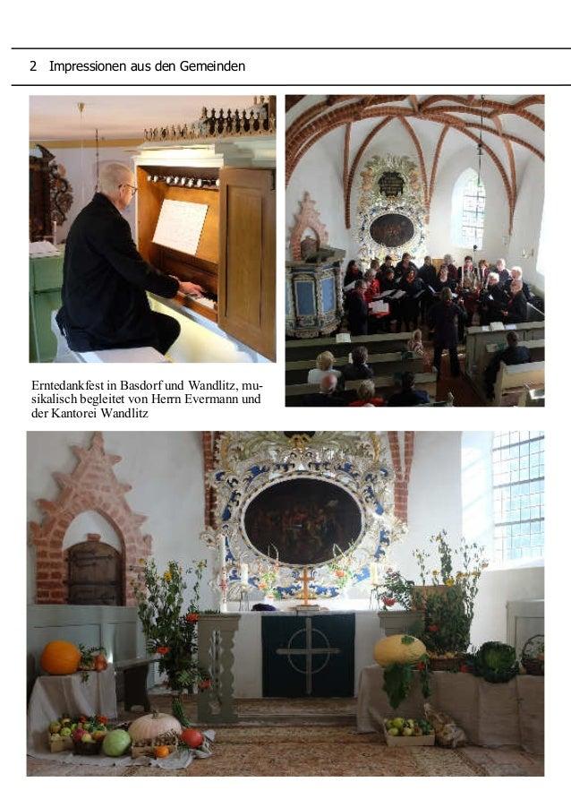 Die Jubiläums-Konfirmanden 2015 Erntedankfest in Basdorf und Wandlitz, mu- sikalisch begleitet von Herrn Evermann und der ...