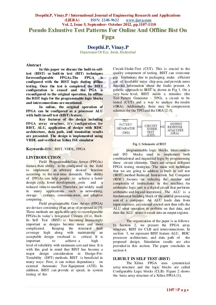Deepthi.P, Vinay.P / International Journal of Engineering Research and Applications                      (IJERA)          ...