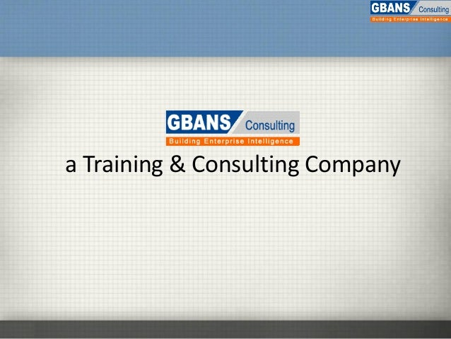a Training & Consulting Company