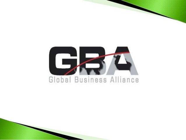 Global Business Alliance (GBA) se dedica a laejecución de proyectos, prestación de serviciosy promoción de productos relac...