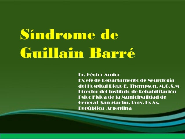 1 item in your Shopping Cart or Wish List now cost less. Don't miss the chance! Síndrome de Guillain Barré Dr. Héctor Amic...