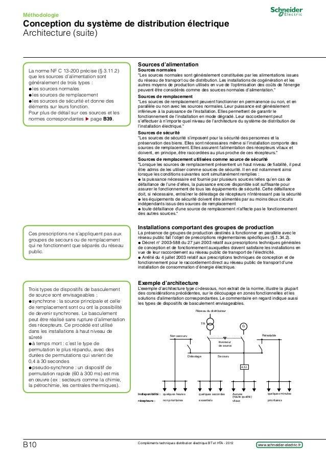 la norme nfc 13-100