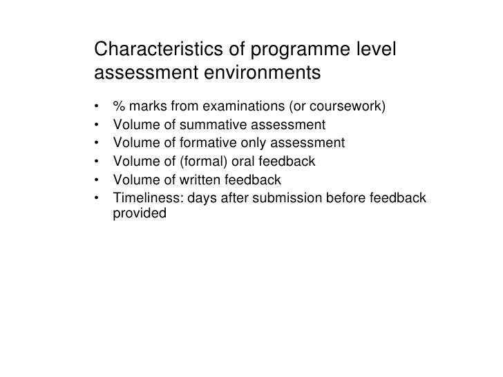 assessing and improving a learning environment Improving the learning environments created by teachers (fraser & fisher  1986  sinclair  assessment of students' perceptions of their learning environment.