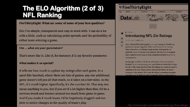 R, Data Wrangling & Predicting NFL with Elo like Nate SIlver