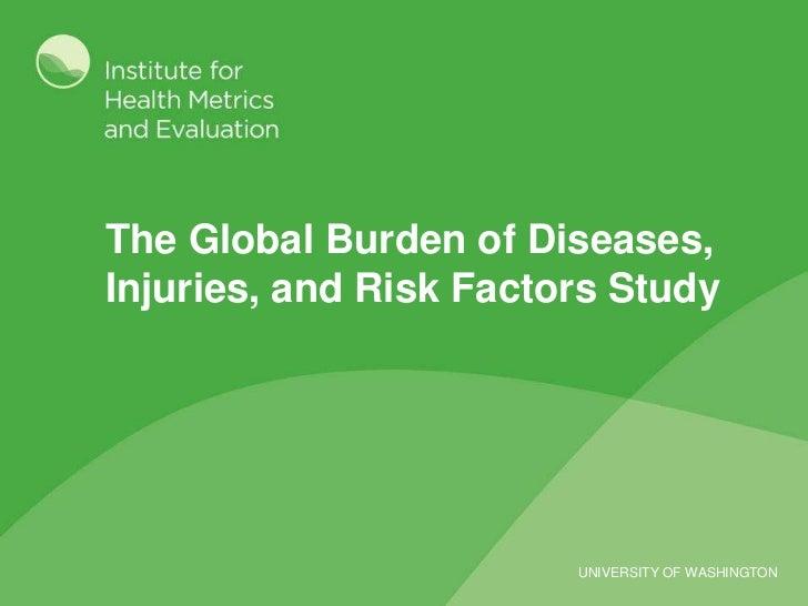 Global Burden of Disease - Pakistan Presentation