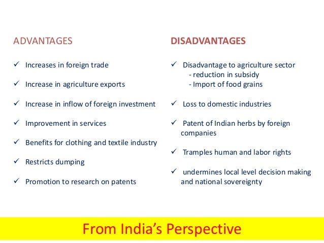 free trade agreement advantages and disadvantages Free trade policies open up new retrieved from explain the advantages & disadvantages of free market.