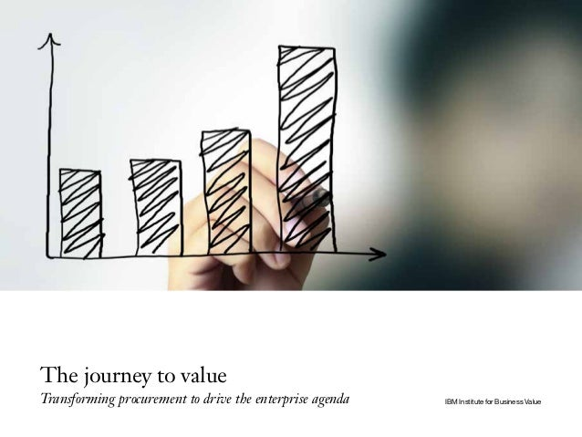 The journey to value Transforming procurement to drive the enterprise agenda IBM Institute for Business Value