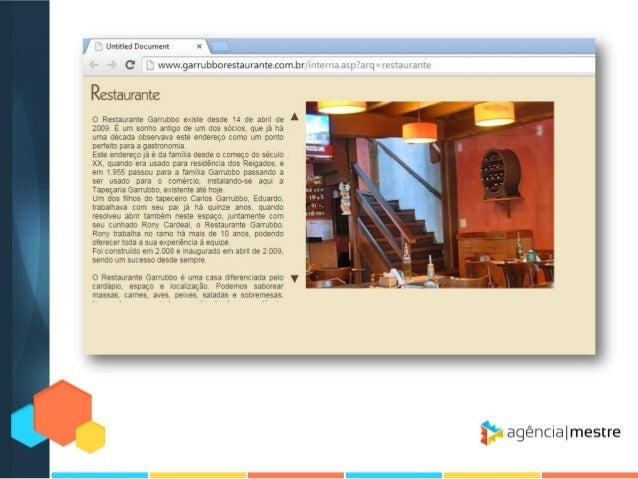 O primeiro passo é verificar como o seu site é exibido: