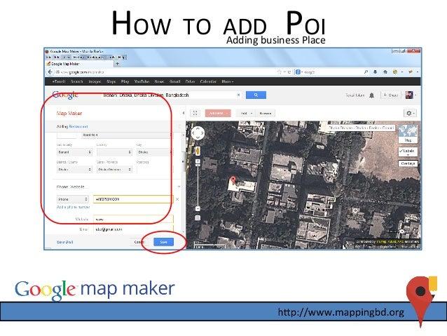 Map Banani - 17th GBG Dhaka Meetup