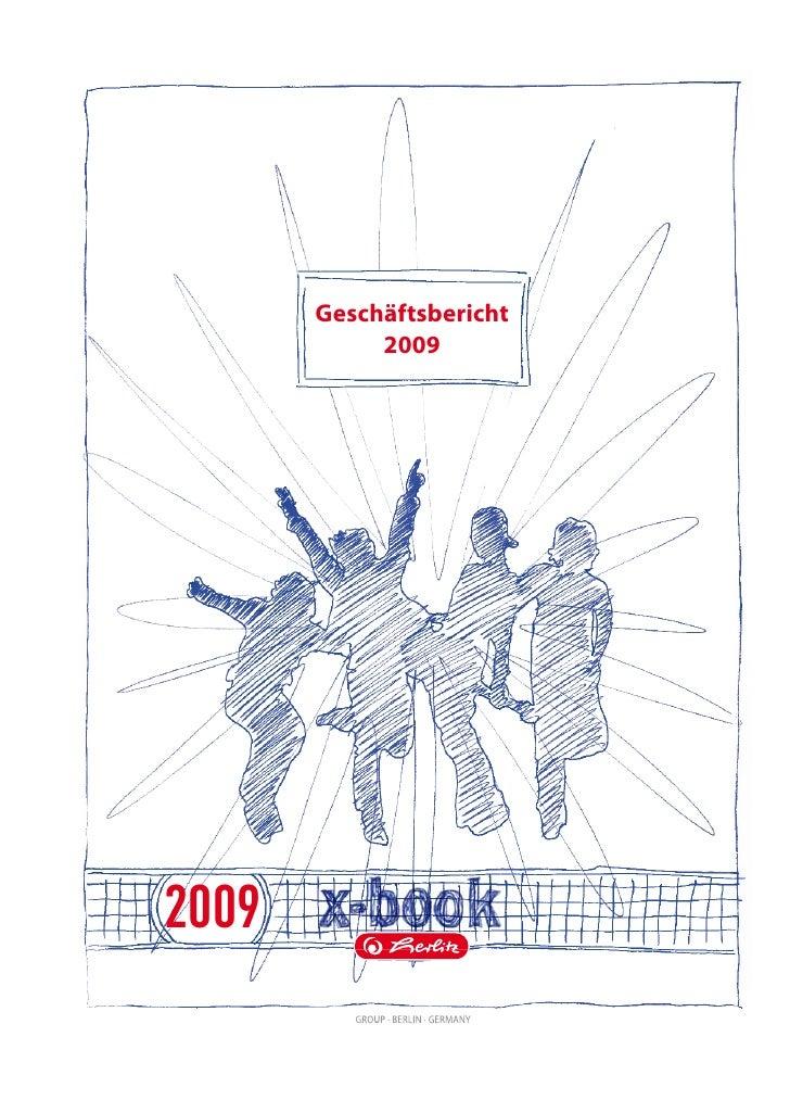 Geschäftsbericht             2009     2009
