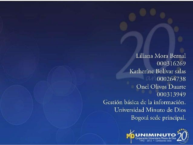 Misión La corporación universitaria minuto de Dios pretende ofrecer servicios que garantizan una unidad integral basada en...