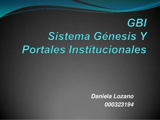Daniela Lozano    000323194