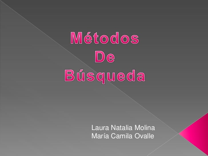Laura Natalia MolinaMaría Camila Ovalle