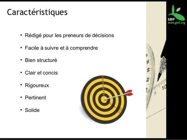 Caractéristiques • Rédigé pour les preneurs de décisions • Facile à suivre et à comprendre • Bien structuré • Clair et con...