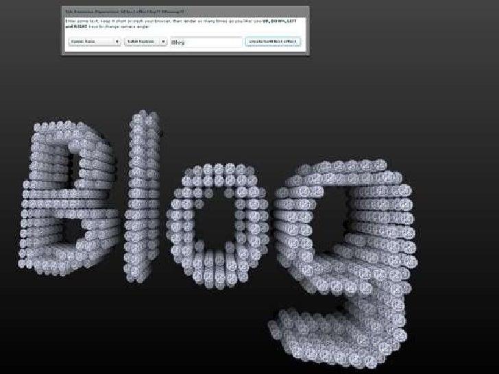 BLOG…….                                         ¿qué es exactamente un blog? ¿Qué lo                                      ...