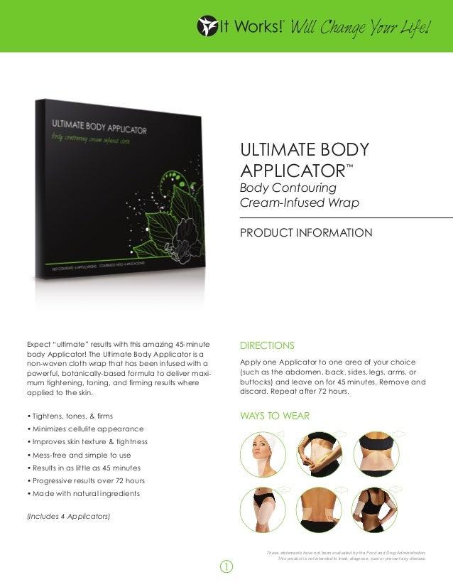 Itworksbodywraps1 It Works Body Wraps Reviews