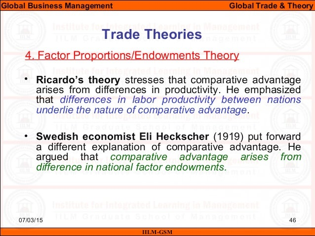Theories of the Multinational Enterprise