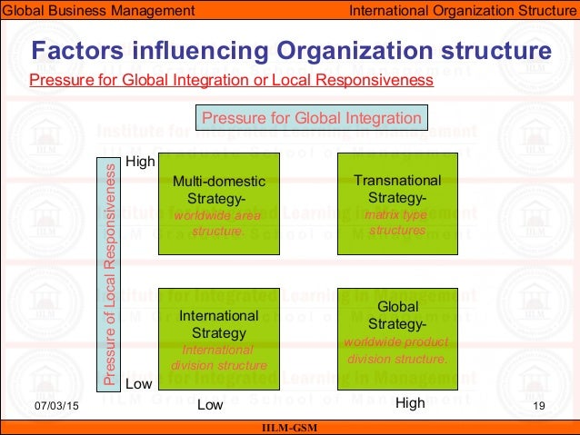 business management factors affecting organisations