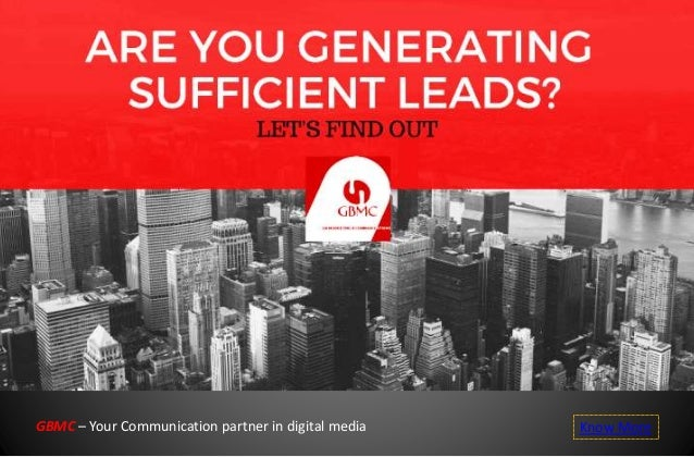 GBMC – Your Communication partner in digital media Know More