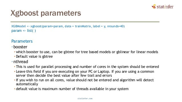 GBM theory code and parameters