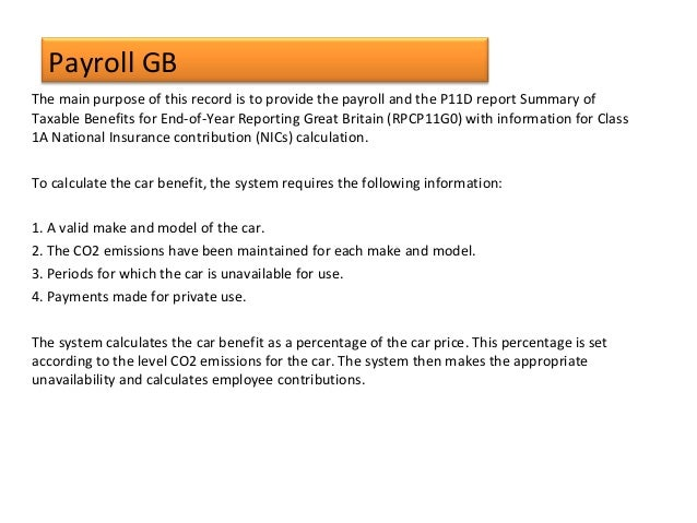Gb Payroll With Employee Central