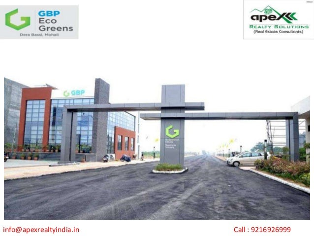 info@apexrealtyindia.in Call : 9216926999