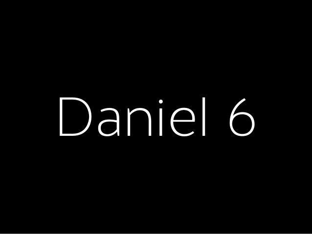 Bible + Culture 2015 4. Daniel 6–8 Slide 2