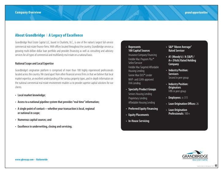 Grandbridge PDF Brochure