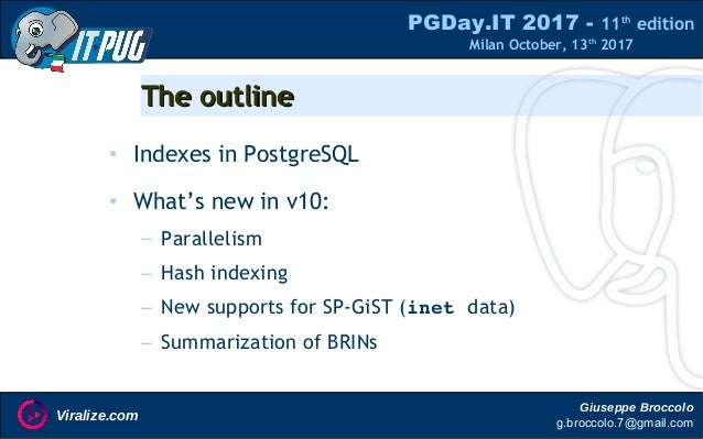 Indexes in PostgreSQL (10) Slide 2